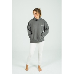 Steel grey Basic hoodie