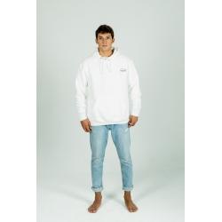 White Basic hoodie