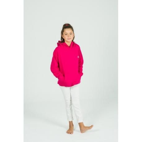 Fuchsia Basic hoodie