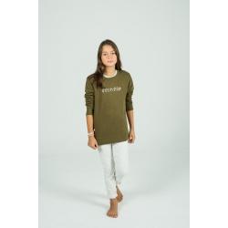 Khaki Sweet sweatshirt