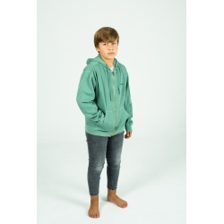 Green Canguro Youth zip hoodie