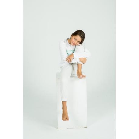 White Long sleeve Sweet Tee
