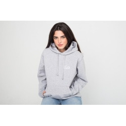 Heather grey Basic hoodie